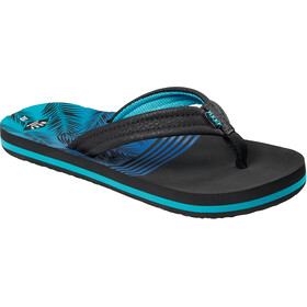 Reef Ahi Sandals Boys, aqua palms